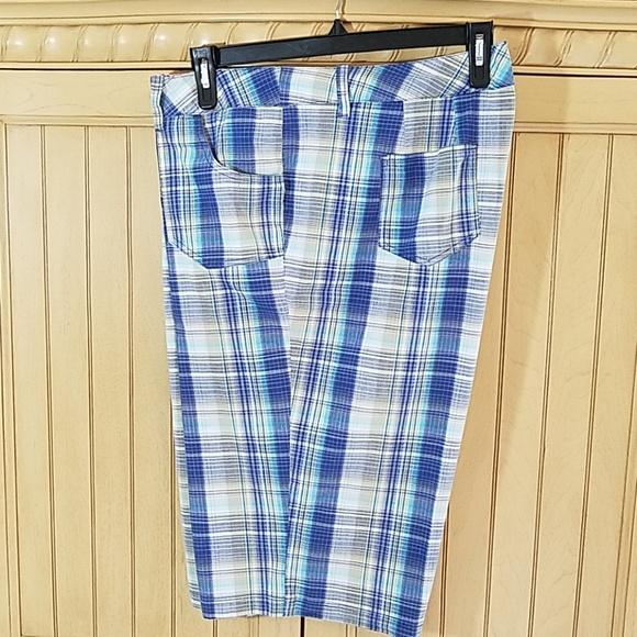 Avenue Pants - Avenue Perfect Plaide Bermuda shorts